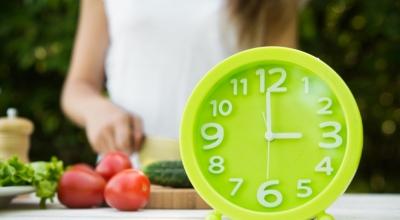 Время основных приемов пищи