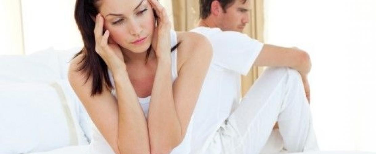 Резкая боль в голове во время оргазма у женщины