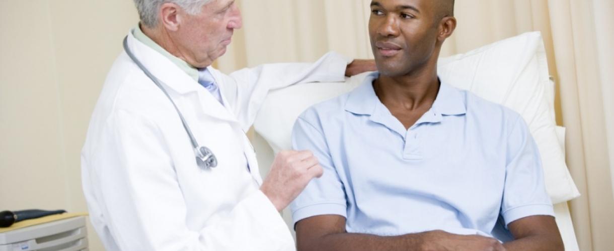 Гемоспермия в результате взятия биопсии при простате