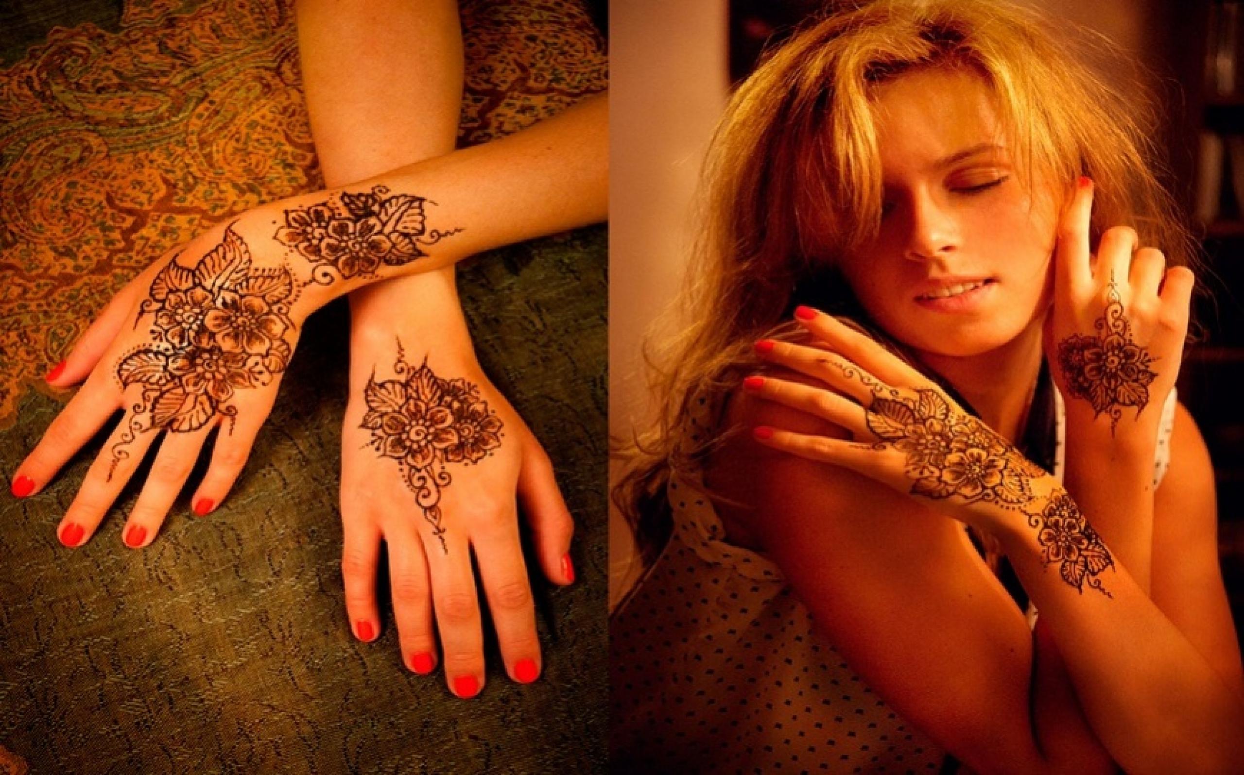 Как сделать татуировку хной фото 1