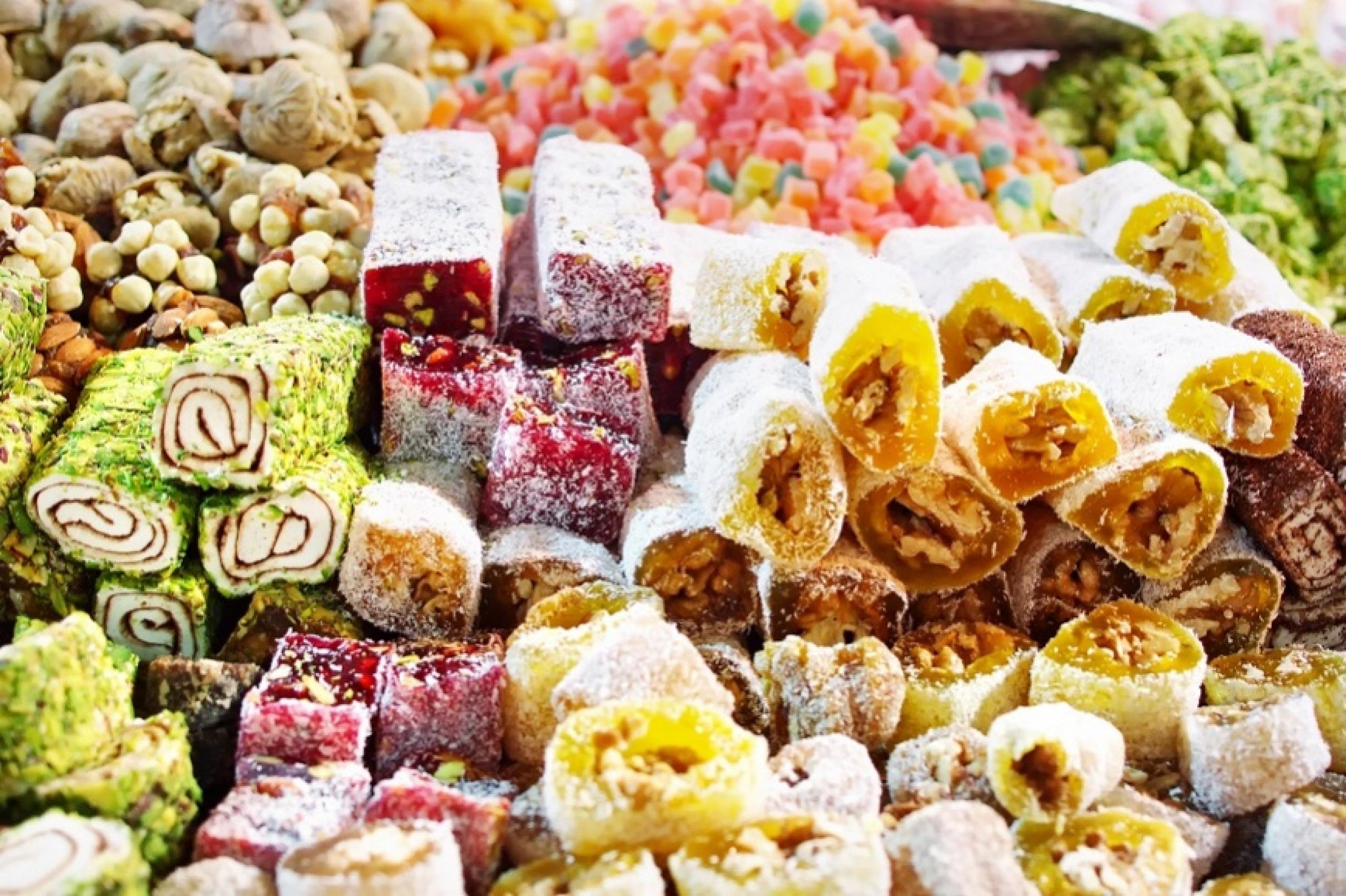 Полезные свойства и калорийность рахат лукума картинки