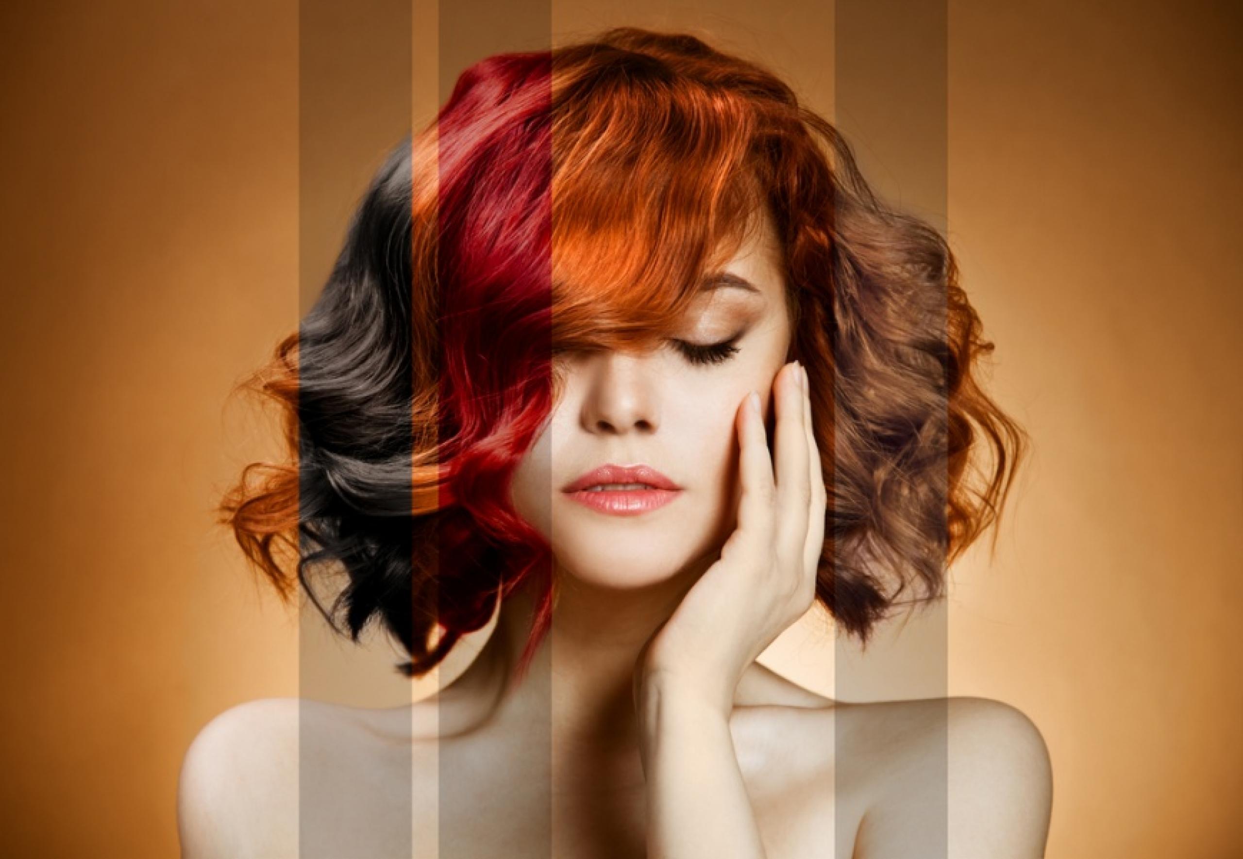 Стрижка и окраска волос в июле 2018