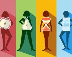 4 вроде женских фигур: сбрасываем влияние от учетом особенностей