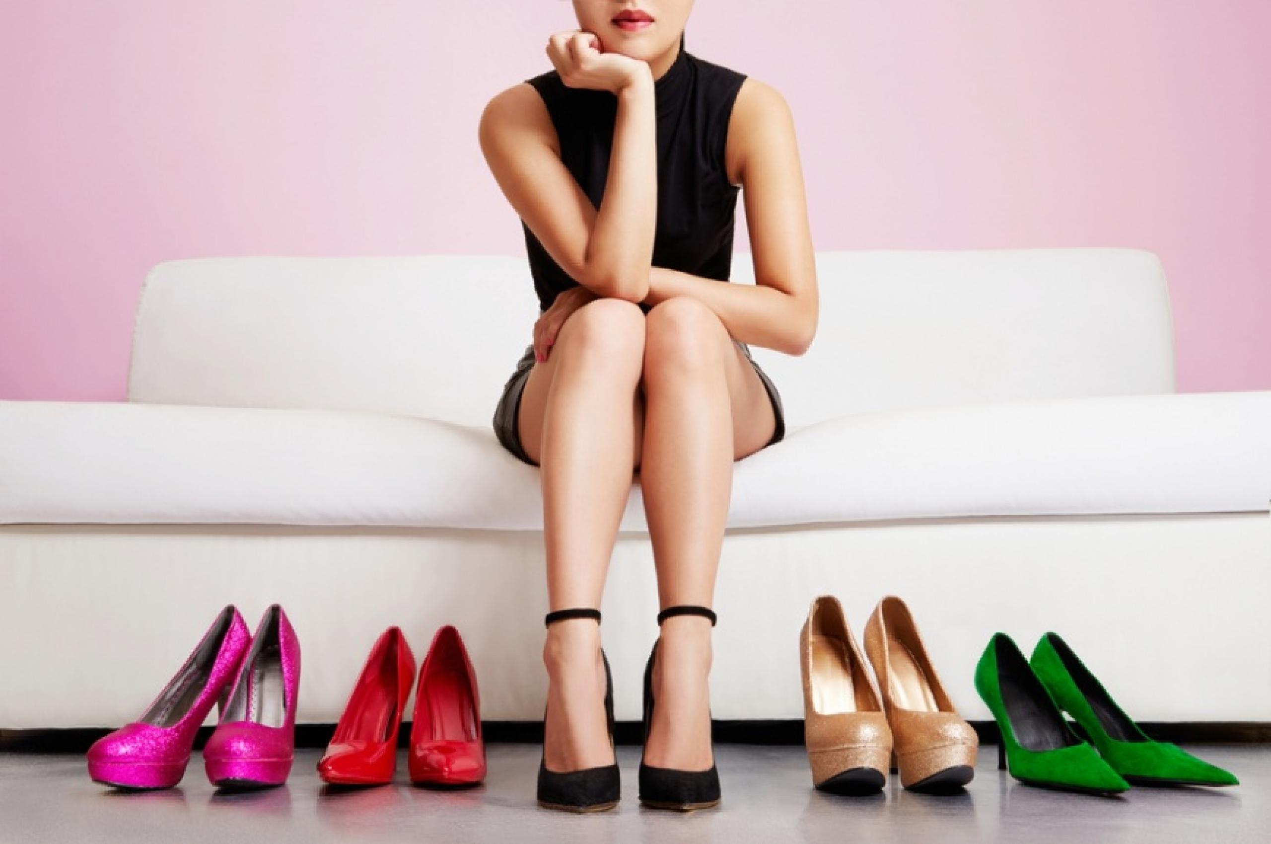 женские ноги на каблуках моей