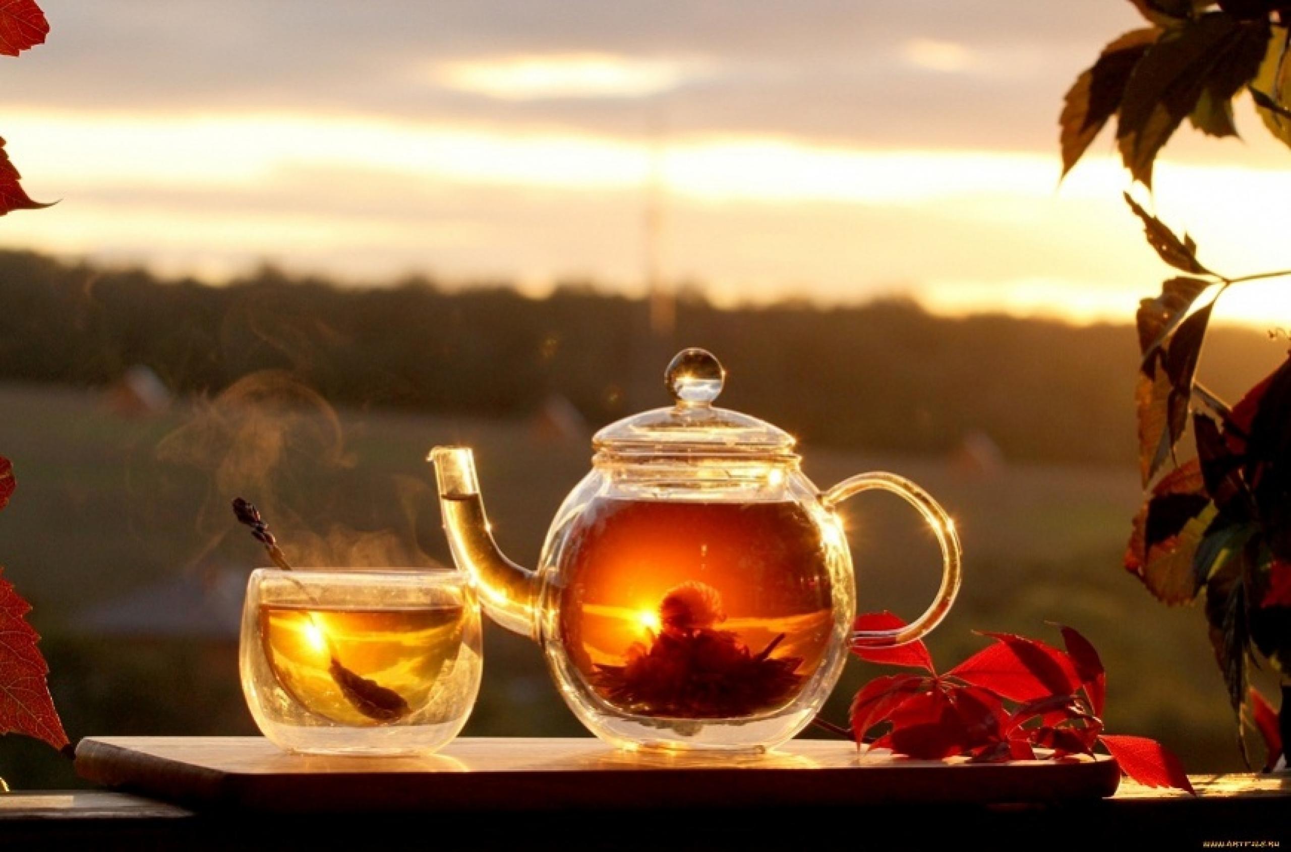 Расслабляющий чай перед сексем