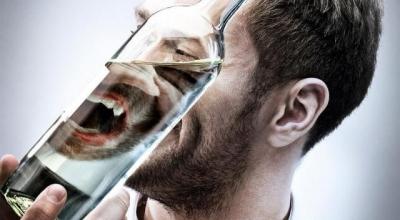 Алкоголь снимает депрессию